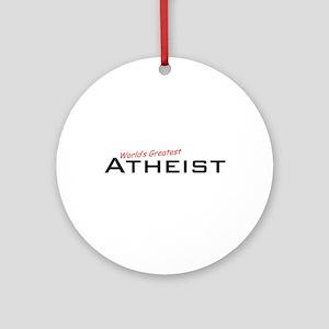 Great Atheist Ornament (Round)