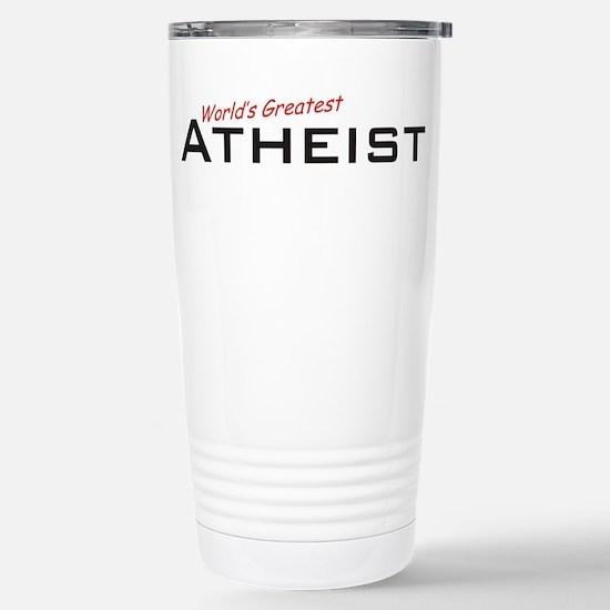 Great Atheist Stainless Steel Travel Mug