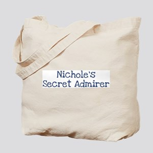 Nicholes secret admirer Tote Bag