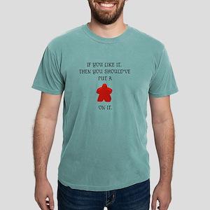 Meeple mash up (drk) T-Shirt
