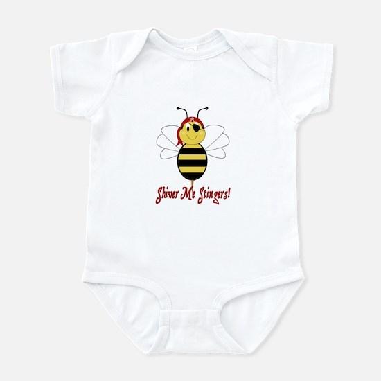 Shiver Me Stingers Infant Bodysuit