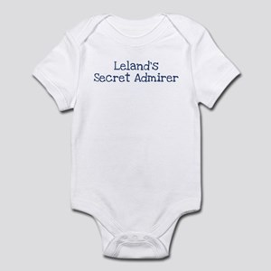 Lelands secret admirer Infant Bodysuit