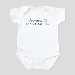 Jacquelyns secret admirer Infant Bodysuit