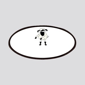 Floss Dance Move Sheep Patch