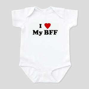 I Love My BFF Infant Bodysuit