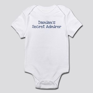 Damians secret admirer Infant Bodysuit