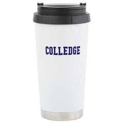 Colledge Stainless Steel Travel Mug