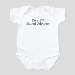 Dannas secret admirer Infant Bodysuit