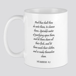 NUMBERS  8:7 Mug