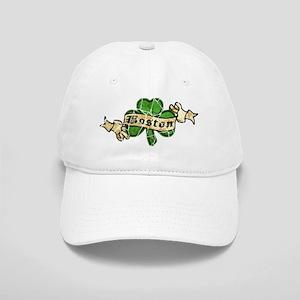 Retro Boston Shamrock Cap