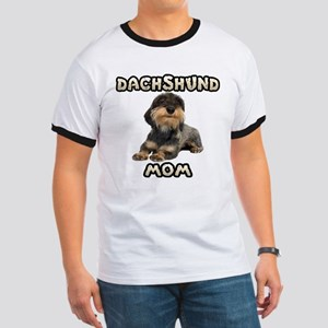 Wirehaired Dachshund Mom Ringer T