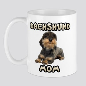 Wirehaired Dachshund Mom Mug