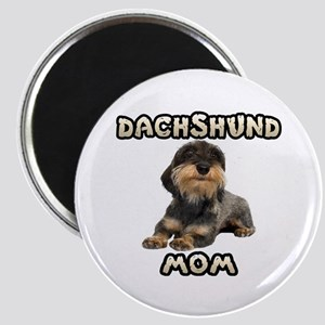 Wirehaired Dachshund Mom Magnet