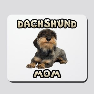 Wirehaired Dachshund Mom Mousepad