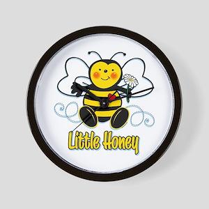 Little Honey Bee Wall Clock
