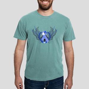 Awareness Tribal Blue T-Shirt