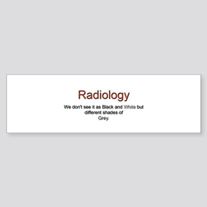 Radiology Bumper Sticker