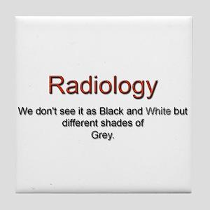 Radiology Tile Coaster