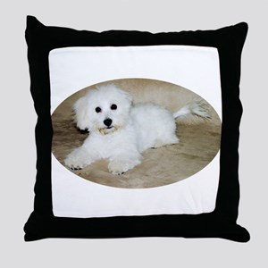 Coton De Tulear Throw Pillow