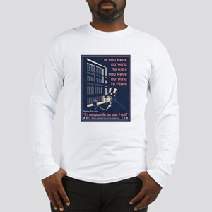 Peeping Sam Long Sleeve T-Shirt