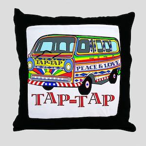 Tap Tap Throw Pillow