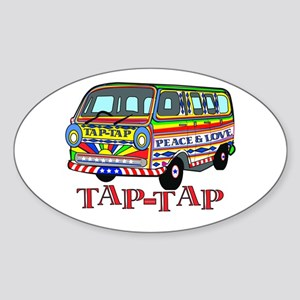 Tap Tap Oval Sticker