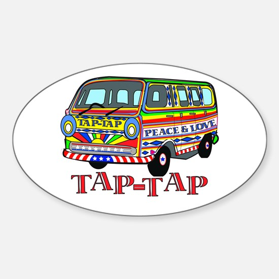Tap Tap Oval Decal