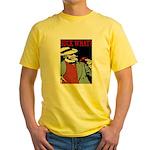 Suck What? Crawfish Yellow T-Shirt