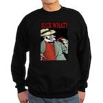 Suck What? Crawfish Sweatshirt (dark)