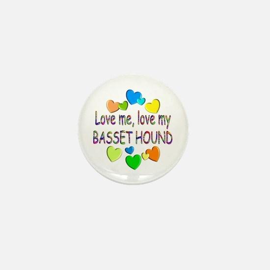 Basset Mini Button