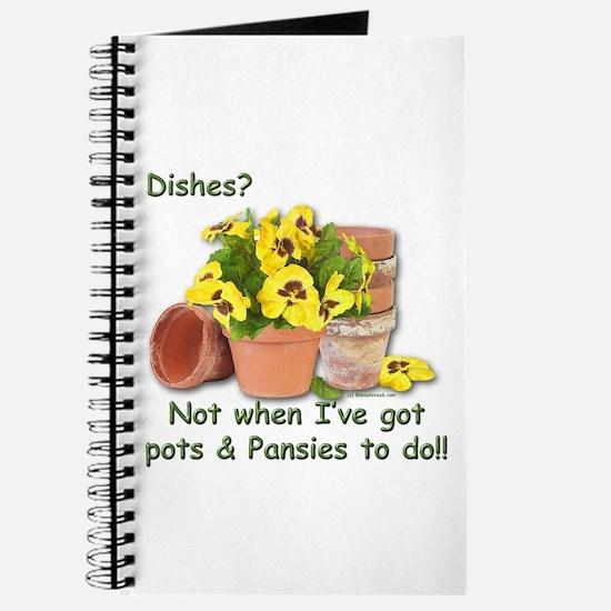 Pots & Pansies Journal