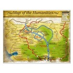 Year 3 Map of the Humanities - Small Poster