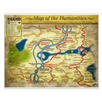 Year 2 Map of the Humanities - Small Poster