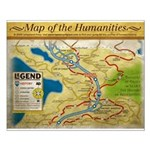 Year 1 Map of the Humanities - Small Poster