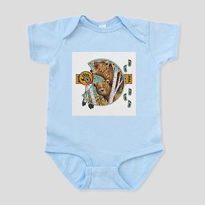 bear totem Infant Creeper