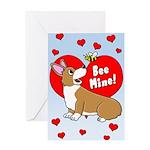 Be Mine Corgi Valentine