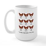Corgi Expressions Large Mug