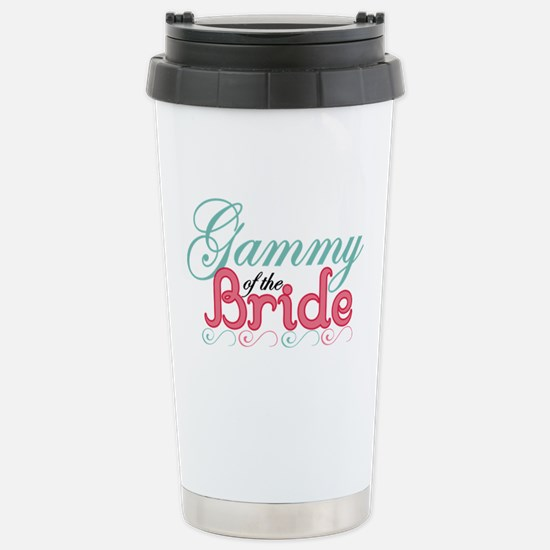 Gammy of the Bride Stainless Steel Travel Mug