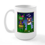 Corgi Hula Large Mug