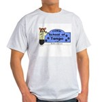 Corgi Tango Ash Grey T-Shirt