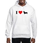 I Heart Pembroke Hooded Sweatshirt