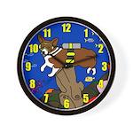 Corgi Scuba Clock