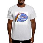 Columbus Corgis Ash Grey T-Shirt