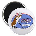 Columbus Corgis Magnet