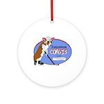 Columbus Corgis Ornament (Round)