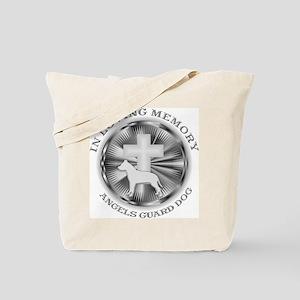 PIT BULL LOVING MEMORY Tote Bag