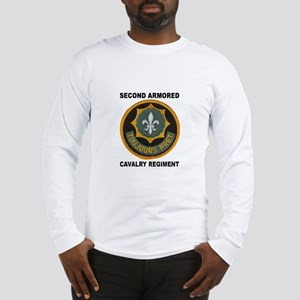 2armoredcavpatchletters Long Sleeve T-Shirt
