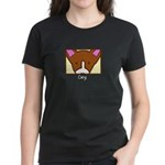 Anime Corgi Women's Dark T-Shirt