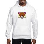 Anime Corgi Hooded Sweatshirt