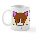 Anime Corgi Mug